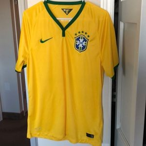Nike CBF authentic mesh jersey style shirt